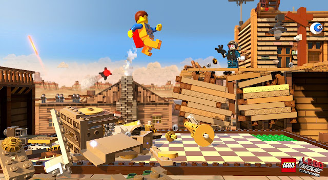 Screenshot of The Lego Movie Videogame