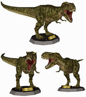 Tyrannosaurus Rex Papercraft - Jurassic Park