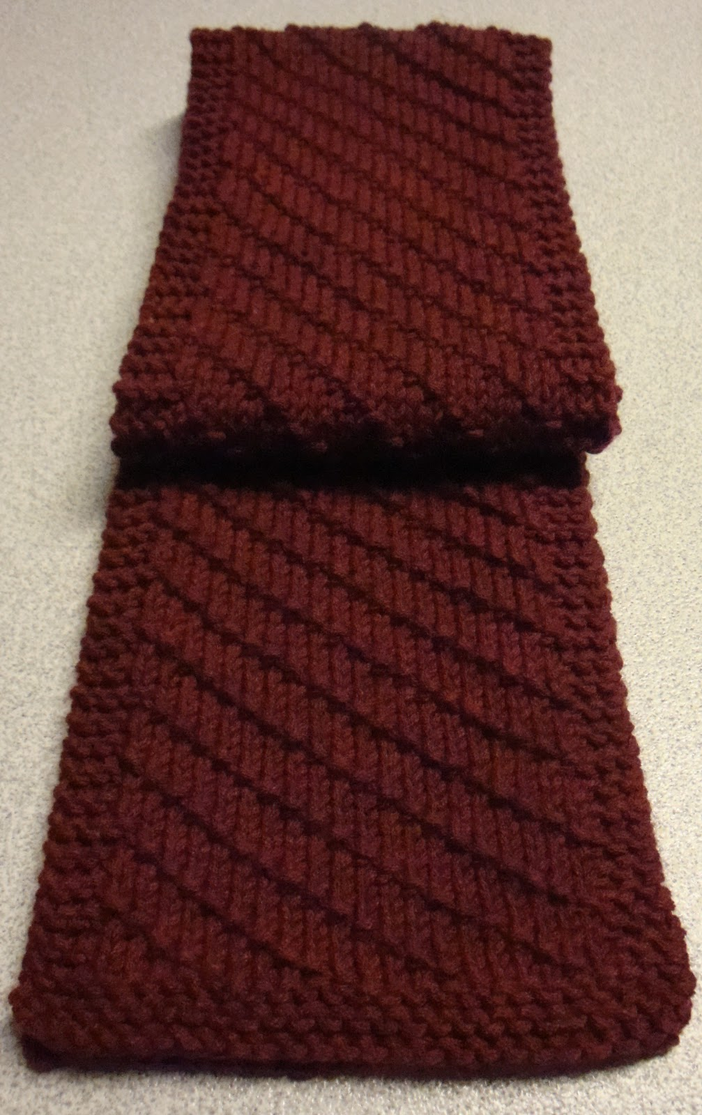 Kims knitting korner simple scarf for him a free pattern simple scarf for him a free pattern bankloansurffo Gallery