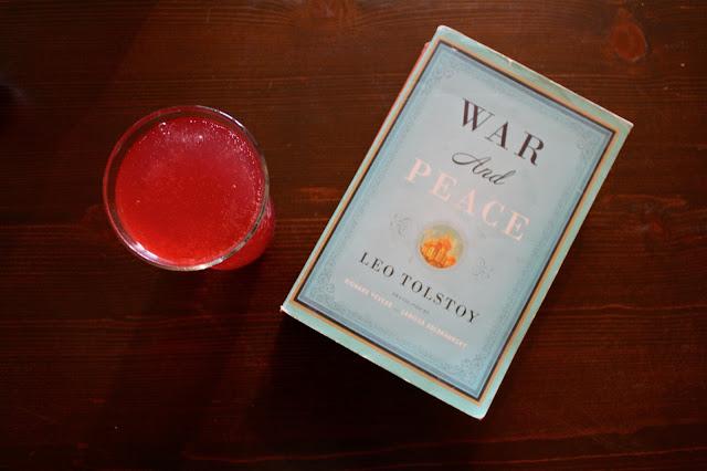 a tasty sip :: Pom & sparkling water