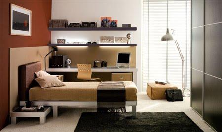 Decora el hogar dormitorios modernos juveniles para hombres for Dormitorios juveniles para hombres