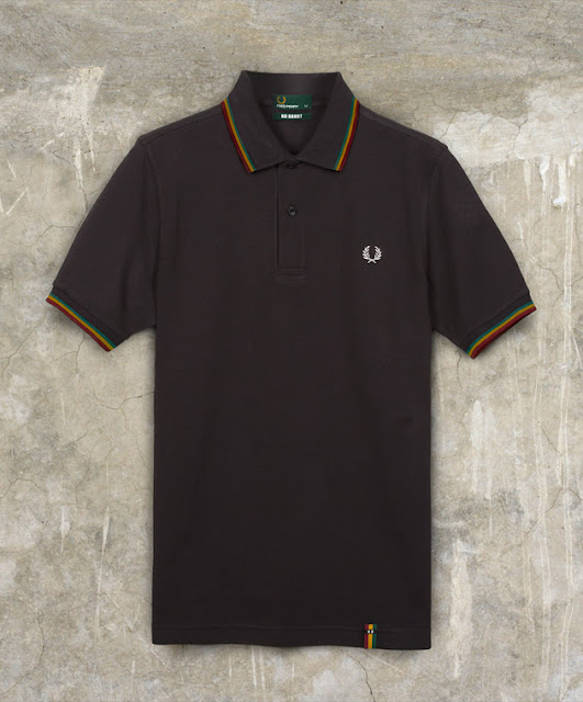 Fred Perry x No Doubt Collaboration: Slim Fit Shirt