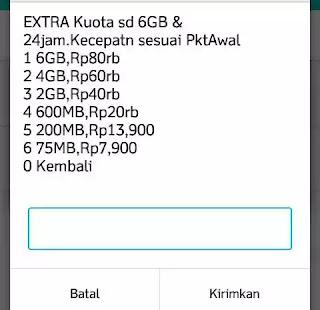 paket ekstra im3