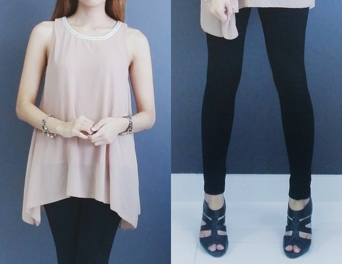 khaki black outfit fashion