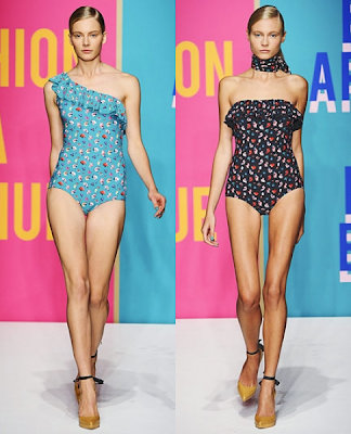 Swimwear Trends for Summer 2012|Frills and Prints