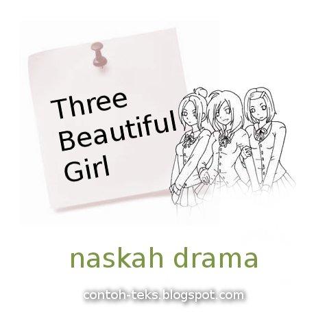 naskah drama untuk 4 orang pemain dengan tema tentang Persahabatan