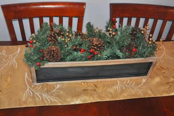 christmas wooden box