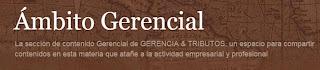 Visita a nuestra sección de GERENCIA