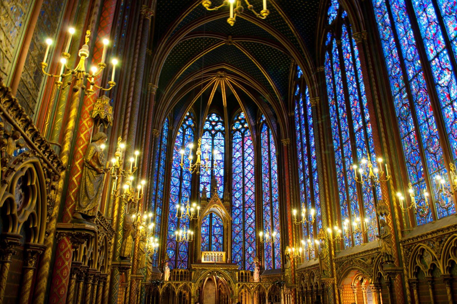 Sainte Chapelle - París