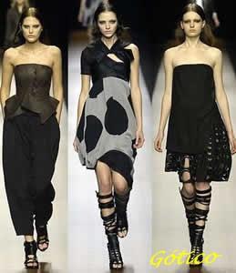 fotos de vestidos para góticas