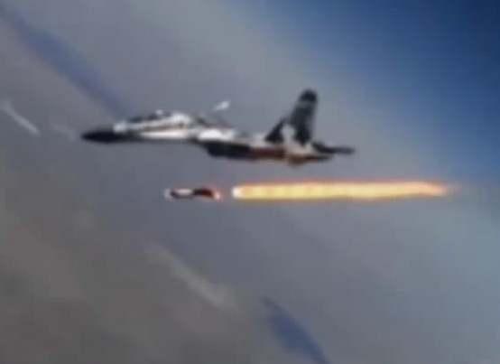 Gambar peluncuran rudal krypton sukhoi
