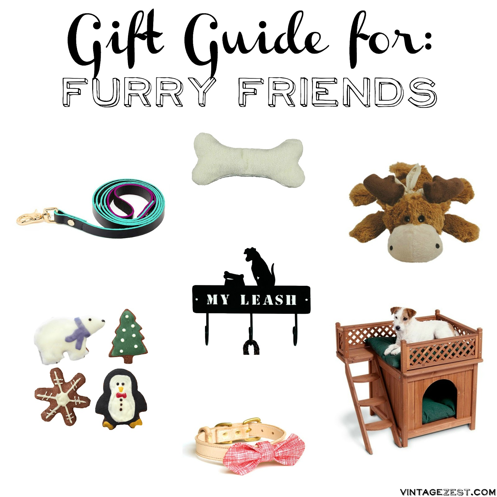 Gift Guide for Dogs on Diane's Vintage Zest  #giftguide #pets #dogs