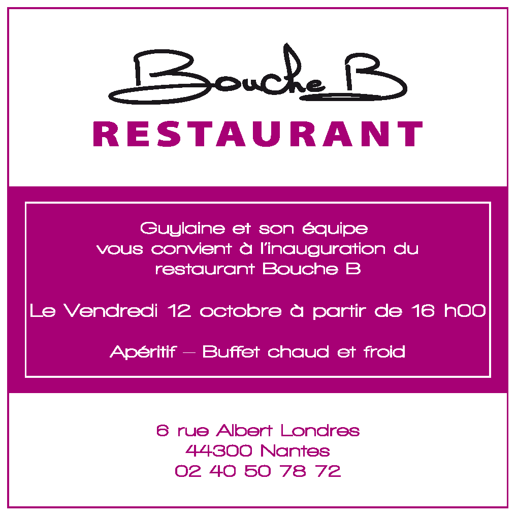 modele carte invitation au restaurant