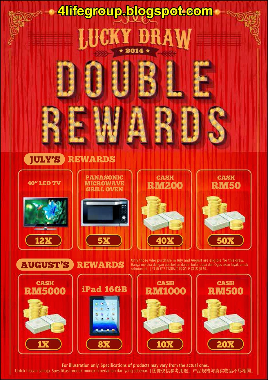 foto Double Rewards Lucky Draw 4Life Malaysia (1)