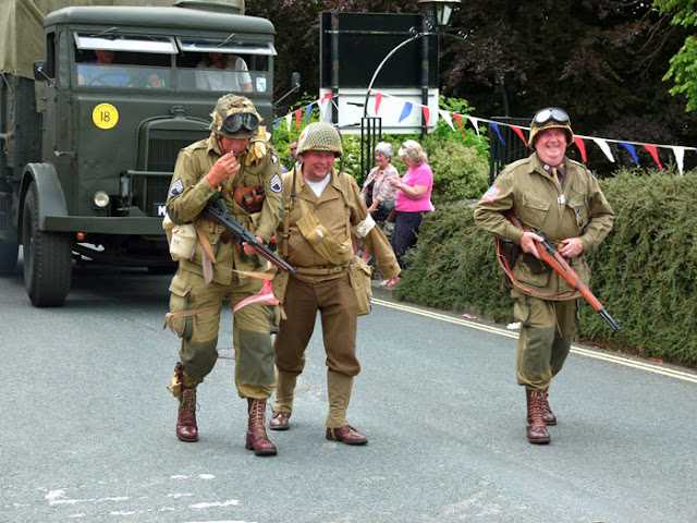 GIs, Ingleton, Re-enactment