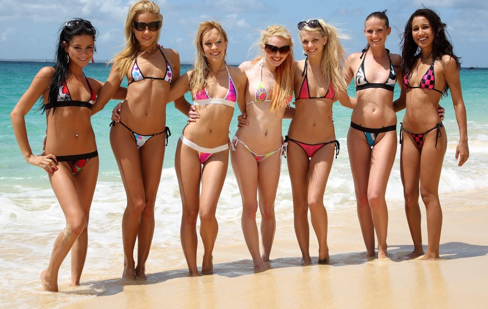 Эротический кастинг русских женщин на пляже 9 фотография