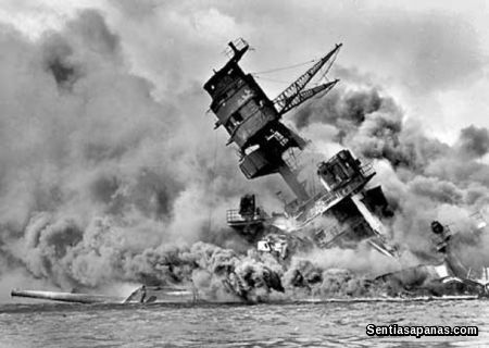 The infamous attack on Pearl Harbor
