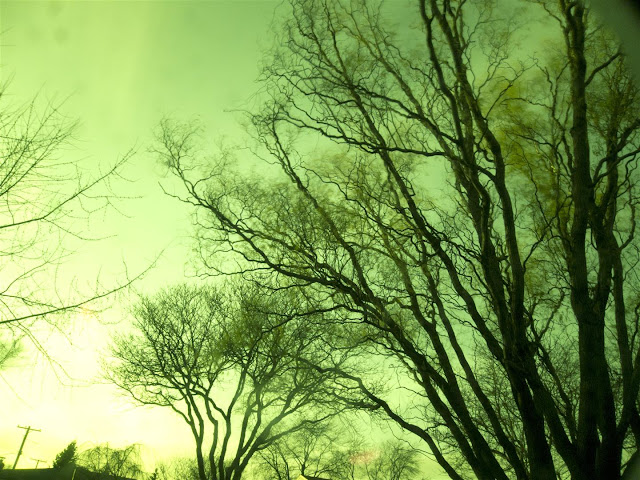 RAW ND filter photo, green tint, welders glass