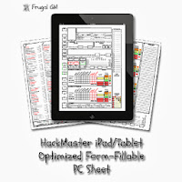 New HackMaster Form-Fillable PC Sheet