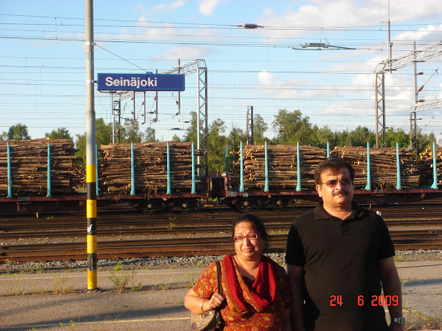 Seinajoki Railway Station,Finland
