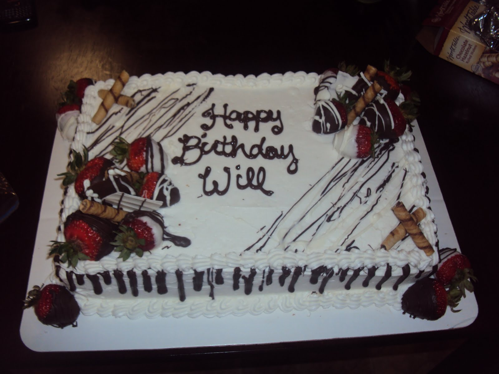 Creative cakes boutique happy birthday will happy birthday will sciox Image collections