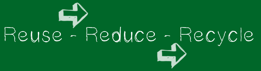 Reuse Reduce Recycle Imagebild