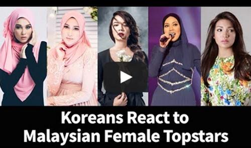 Video Respon Orang Korea Akan Artis Dan Selebriti Malaysia... Sangat Teruja!