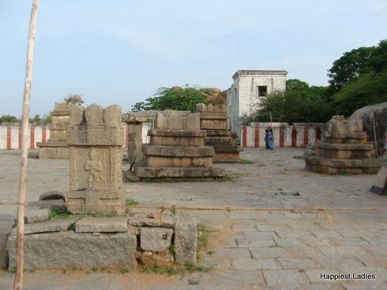 Navavrindavana holy island Anegundi
