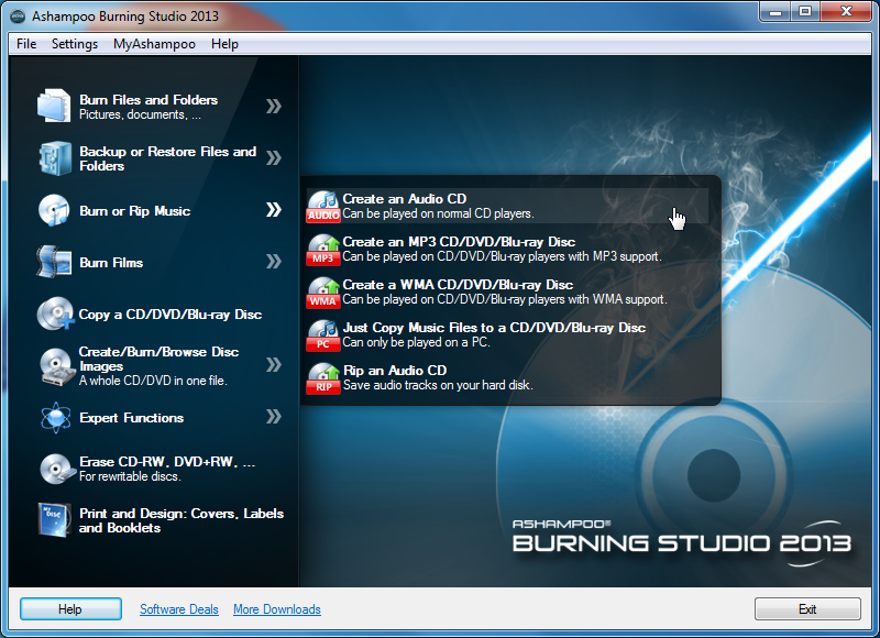 Download ashampoo burning studio 2013 softonic