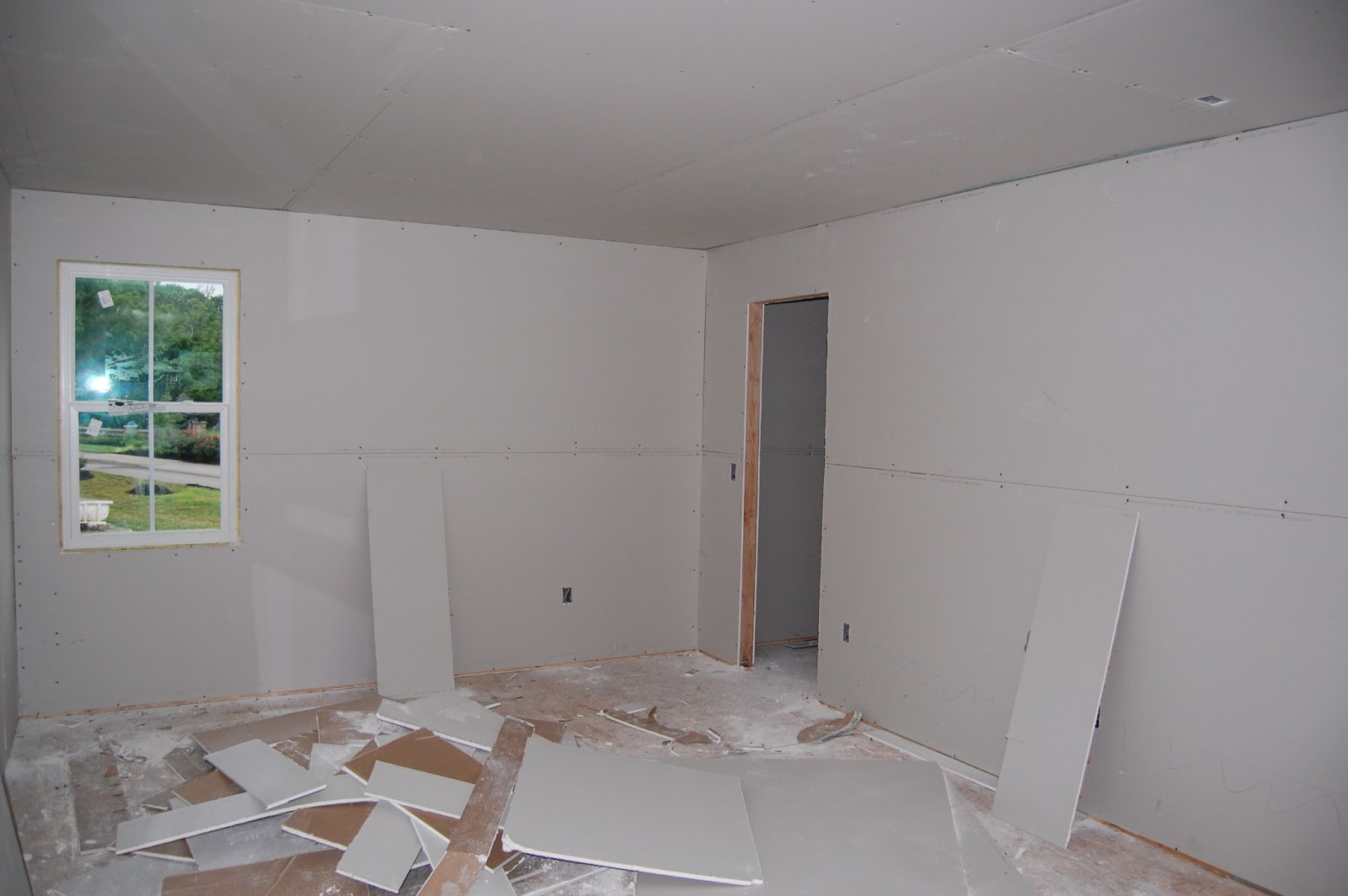 Building Our First Home With Ryan Homes Day 44 Drywall Started