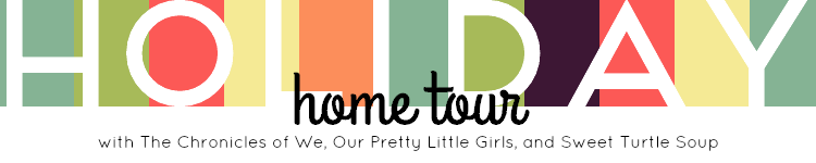 Holiday Home Tour Link Up Annoucement