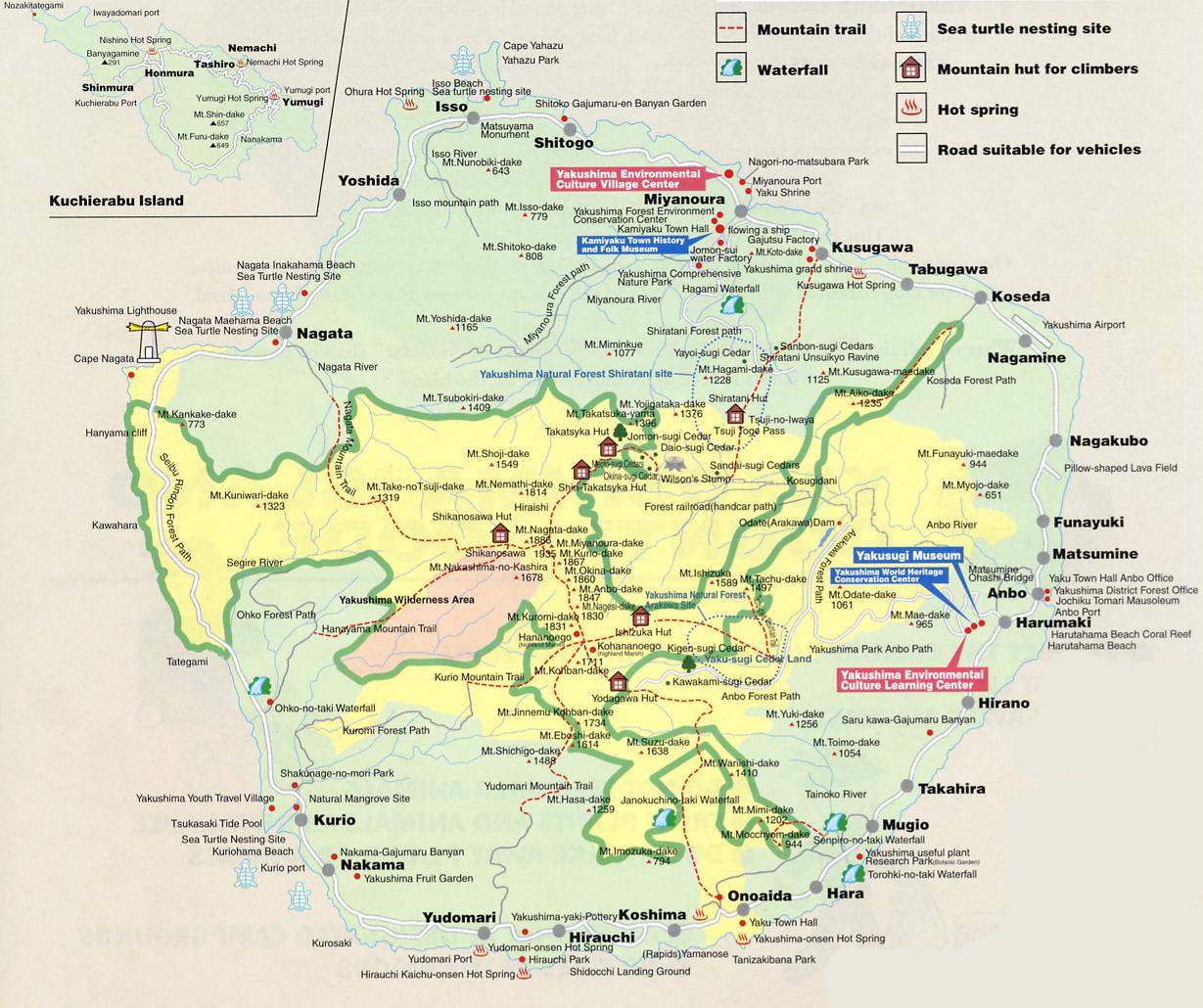 The Travel Of Sergi Kagoshima Yakushima And KirishimaYaku - Japan map yakushima