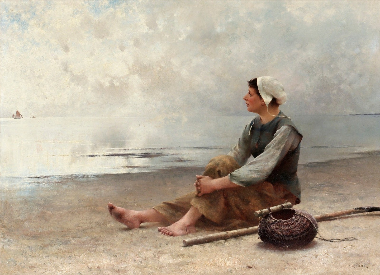 August Hagborg Waiting