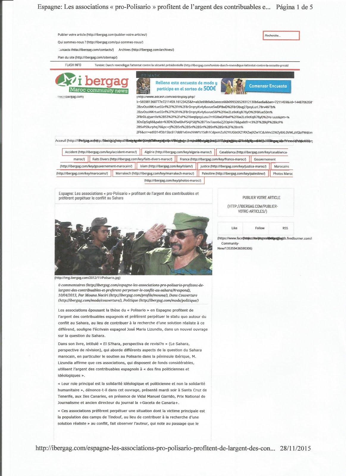 IBERGAG MAROC COMMUNITY NEWS