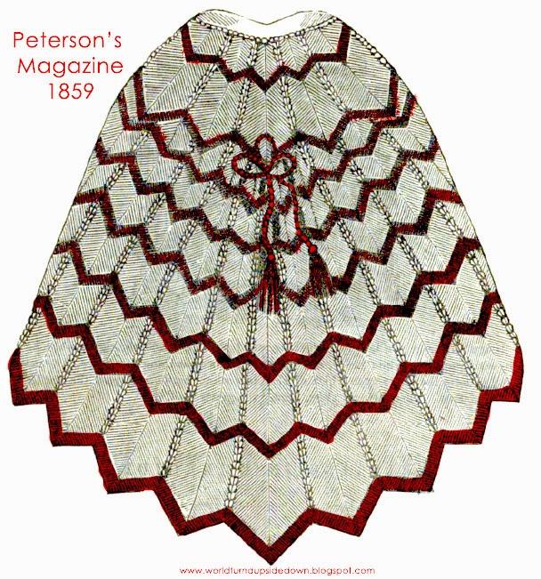Civil War Shawl Pattern Stephanie Ann Farra