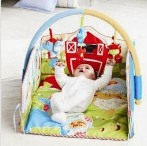 ELC Blossom Farm 2 in 1 Baby Gym