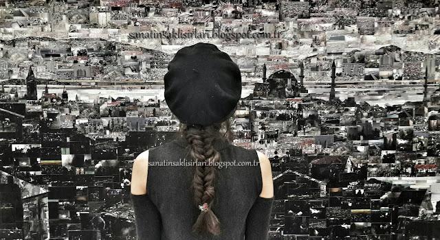 İçimden Gelenler / Bendeki Durumlar / Tüyap Resim Sergisi İstanbul Tablosu