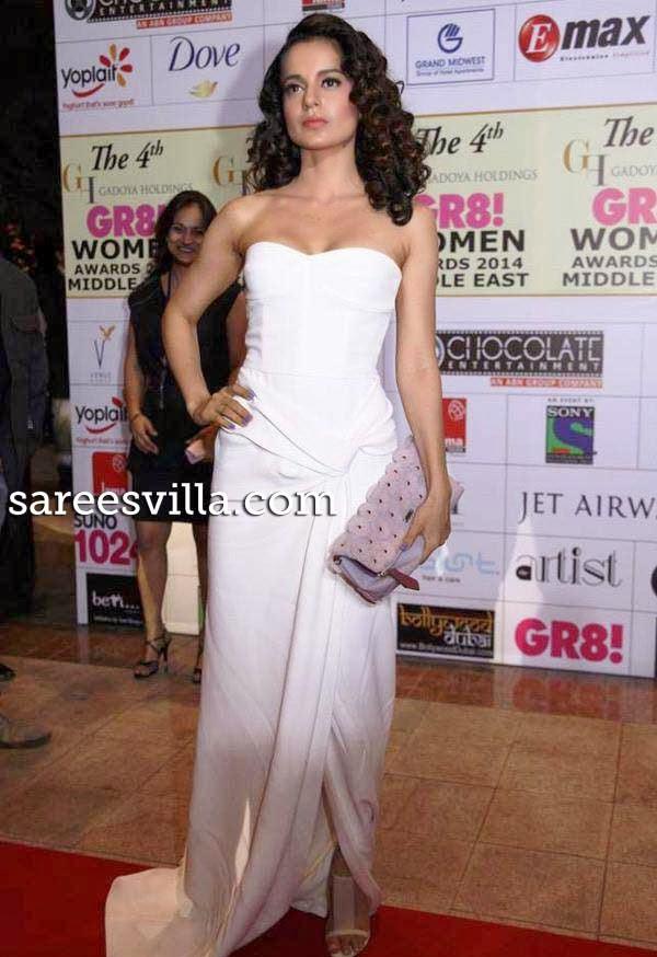 Kangna Ranaut at 4th Gadoya Holdings Gr8! Women Awards