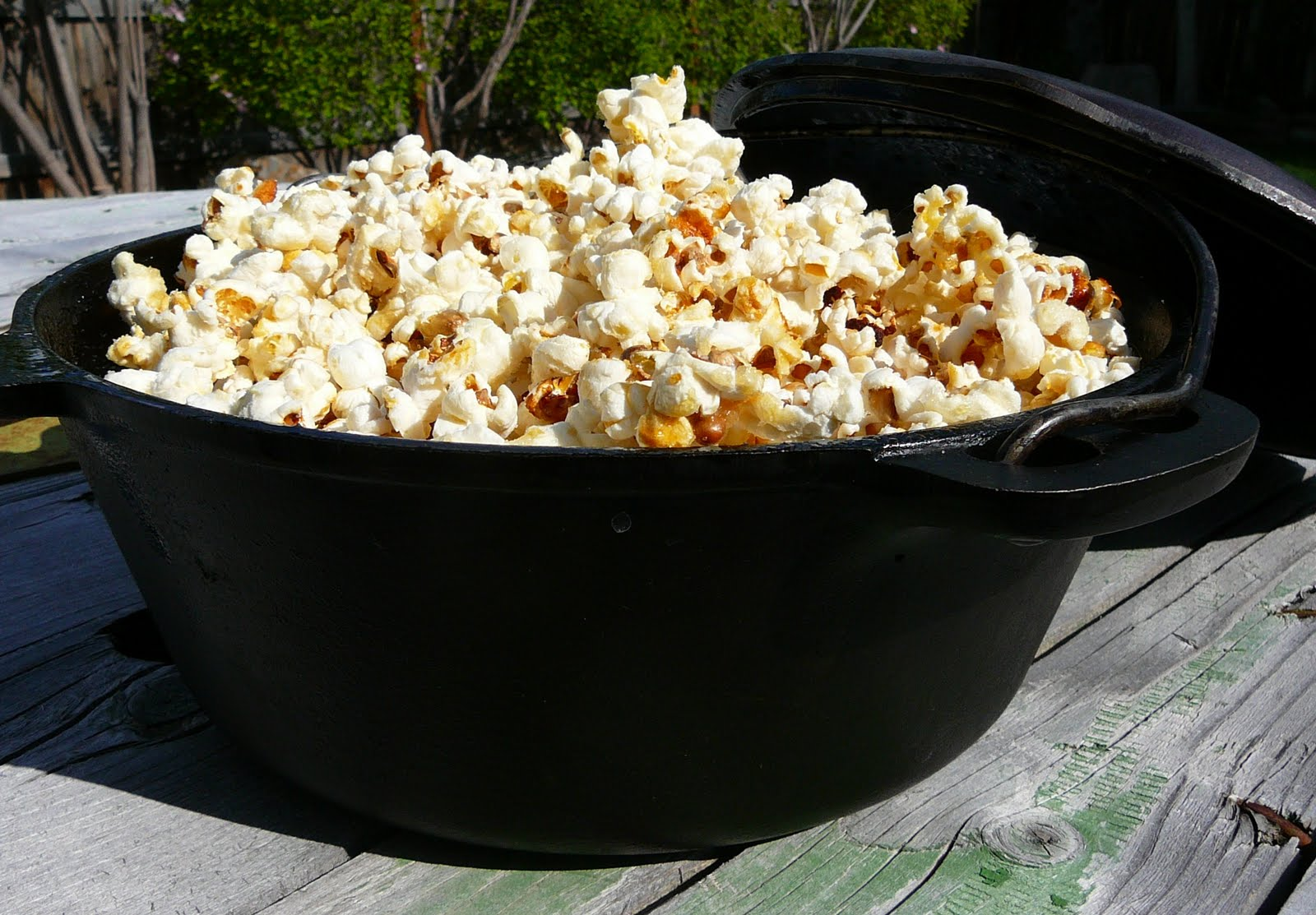 Can't wait for your local farmer's market or fair to have kettle corn...