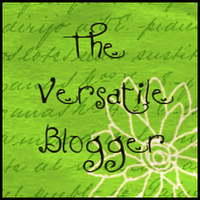 I'm a Versatile Blogger Award Recipient!