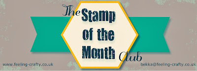 Feeling Crafty Stamp of the Month Club - check the details here