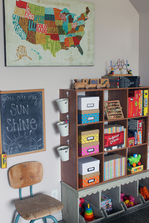 Love Chat Rooms For Kids : IHeart Organizing: Reader Space: A Rustic Playroom