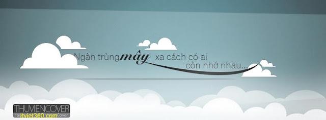 Ảnh bìa Facebook tình yêu đẹp, buồn mới nhất - Cover FB love timeline, ngàn trùng mây xa cách có ai còn nhớ nhau