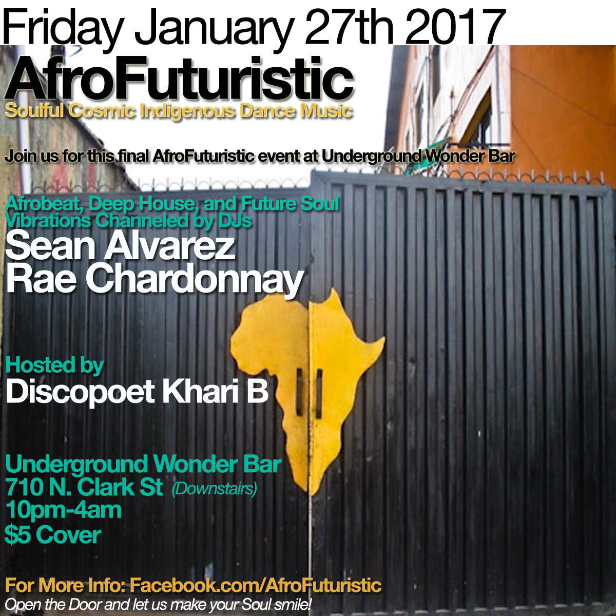 Friday January 27th: AfroFuturistic UWB Finale