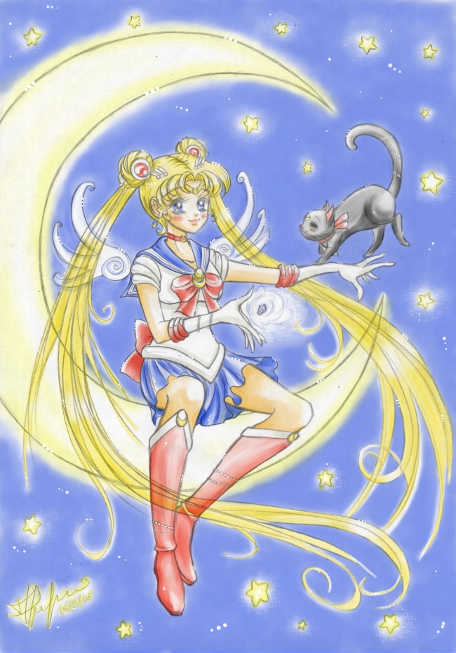 Sailor Moon por Pucciola