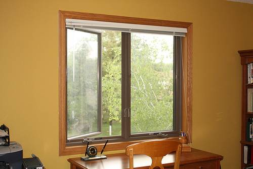 Office and factory renovation casement windows what they are for Best blinds for casement windows