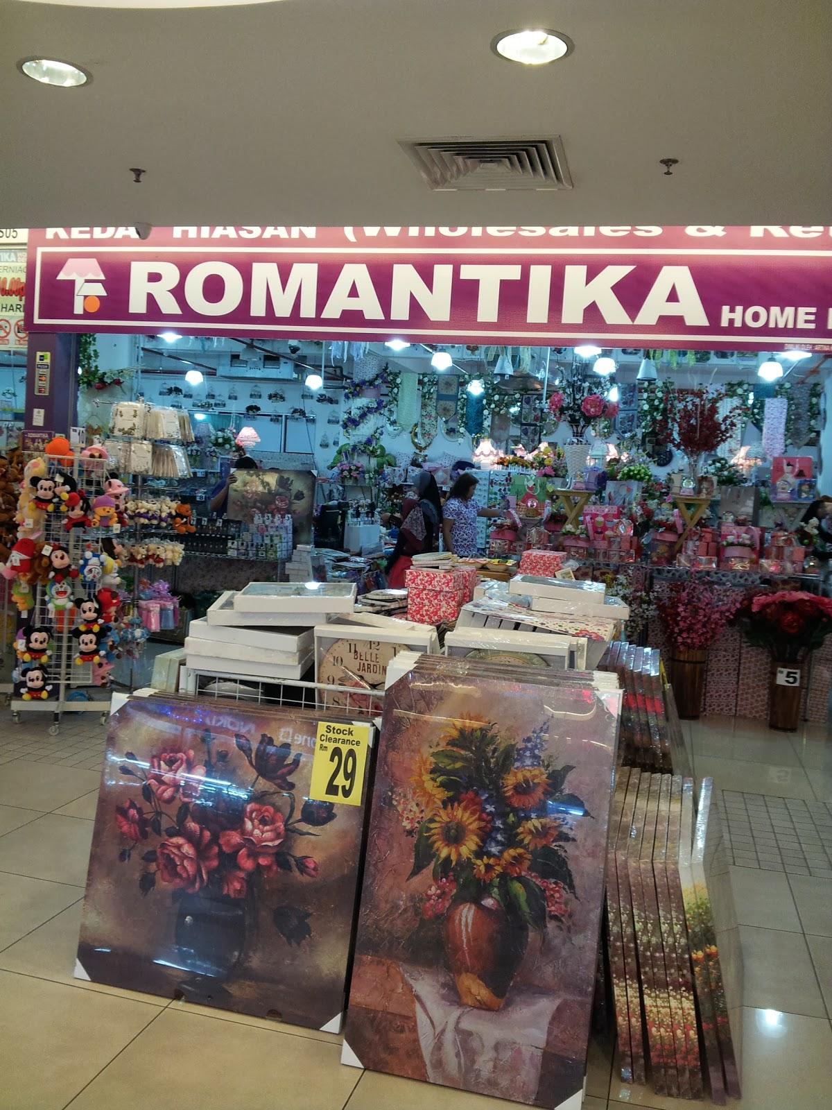 Romantika home decor selangor map