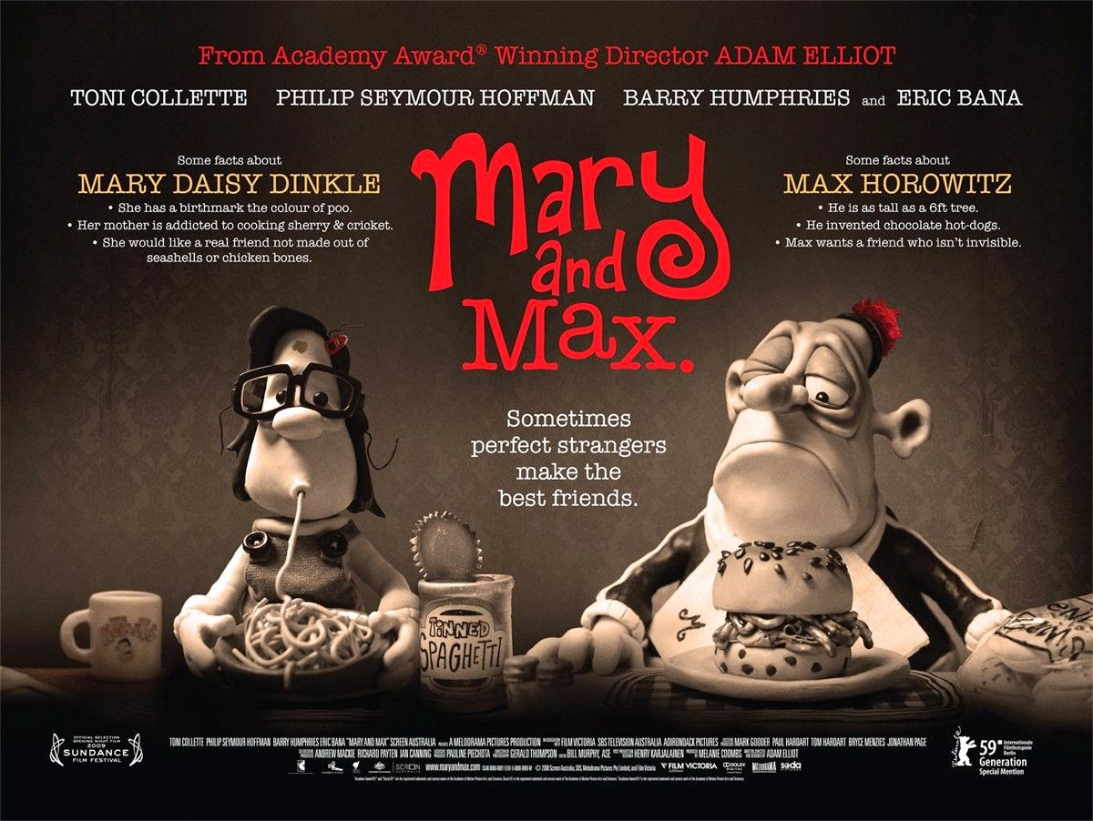 Mary & Max A Rich Story For Those Who Are Not Afraid To Explore The  Heights And Depths That Imperfection Humanity Bring To Our Lives And The  Lives Of