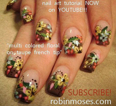 Its Always Sunny In Philadelphia Nail Art Design Colorful Folk Art