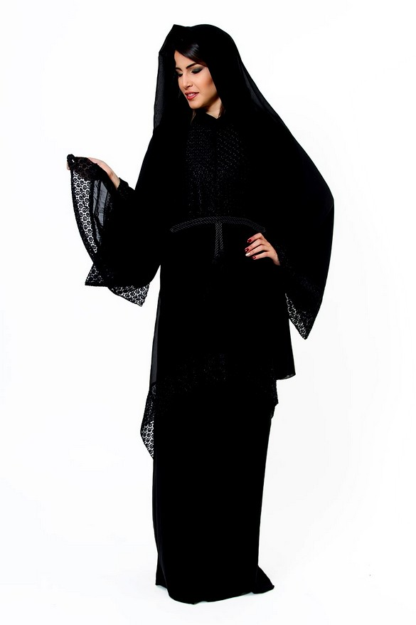 Islamic Abaya Dresses Designs 2013-2014 | Dubai Abaya Fashion Designs